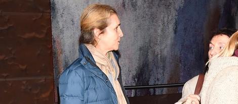 La Infanta Elena en el estreno del documental 'Camino a la escuela'