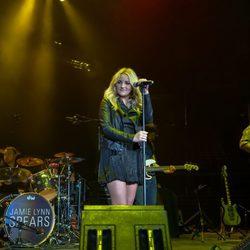 Jamie Lynn Spears durante una actuación en Texas