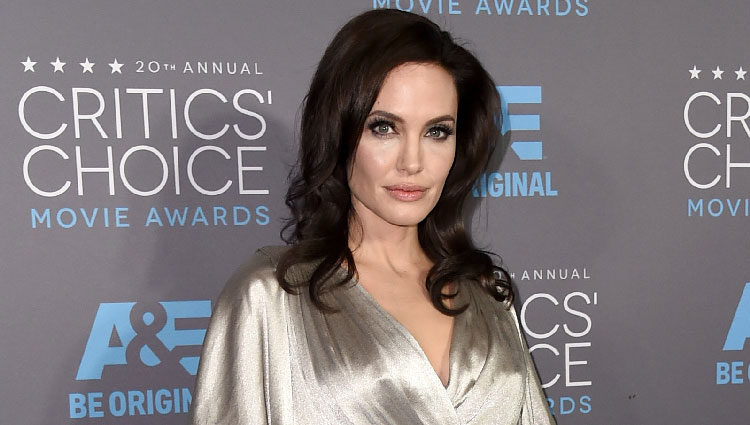 Angelina Jolie en los Critics' Choice Awards 2015