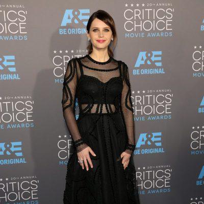 Felicity Jones en los Critics' Choice Awards 2015