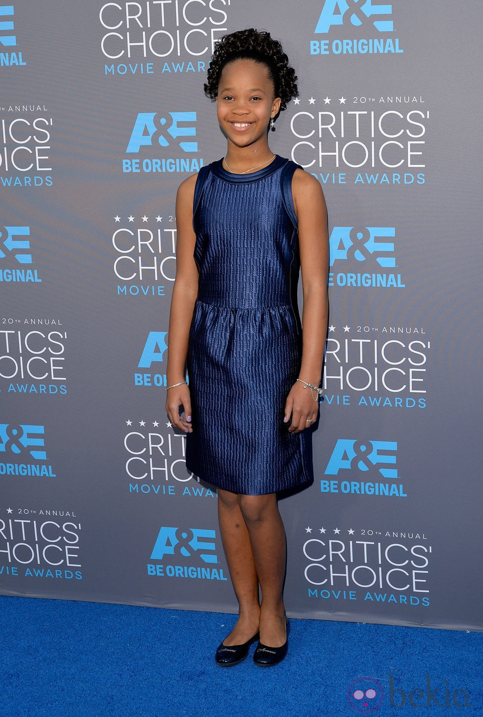 Quvenzhané Wallis en los Critics' Choice Awards 2015