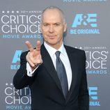 Michael Keaton en los Critics' Choice Awards 2015
