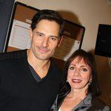 Joe Manganiello con su madre Susan Manganiello