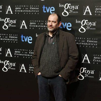Karra Elejalde en la fiesta de los nominados a los Goya 2015