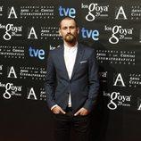 Raúl Arévalo en la fiesta de los nominados a los Goya 2015