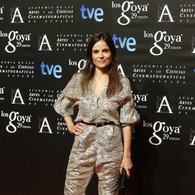 Elena Anaya en la fiesta de los nominados a los Goya 2015
