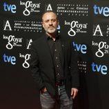 Javier Gutiérrez en la fiesta de los nominados a los Goya 2015