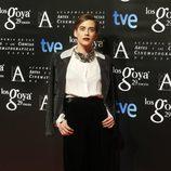 María León en la fiesta de los nominados a los Goya 2015