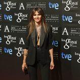 Goya Toledo en la fiesta de los nominados a los Goya 2015