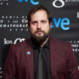 Carlos Vermut posa en la fiesta de nominados a los Premios Goya 2015