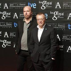 Daniel Monzón posa en la fiesta de nominados a los Premios Goya 2015