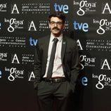 David Verdaguer posa en la fiesta de nominados a los Premios Goya 2015