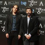 Alberto Rodríguez posa en la fiesta de nominados a los Premios Goya 2015