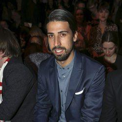 Sami Khedira en el front row de la Berlin Fashion Week