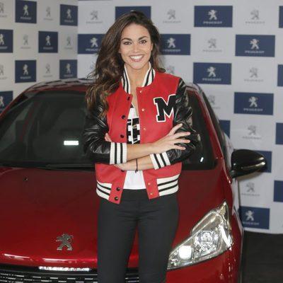 Lara Álvarez, madrina de un acto organizado por una marca de coches