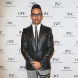 Lewis Hamilton en el Salón de la Alta Relojería de Ginebra