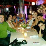 Desiré Cordero recibe la visita de su pareja y su familia antes de la final de Miss Universo 2015