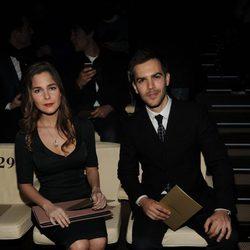 Natalia Sánchez y Marc Clotet en la Semana de la Moda Masculina de Milán 2015