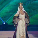 Desiré Cordero se convierte en Isabel la Católica en la semifinal de Miss Universo 2015