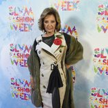 María Teresa Campos en la Sálvame Fashion Week