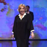 María Luisa Merlo desfilando en la Sálvame Fashion Week