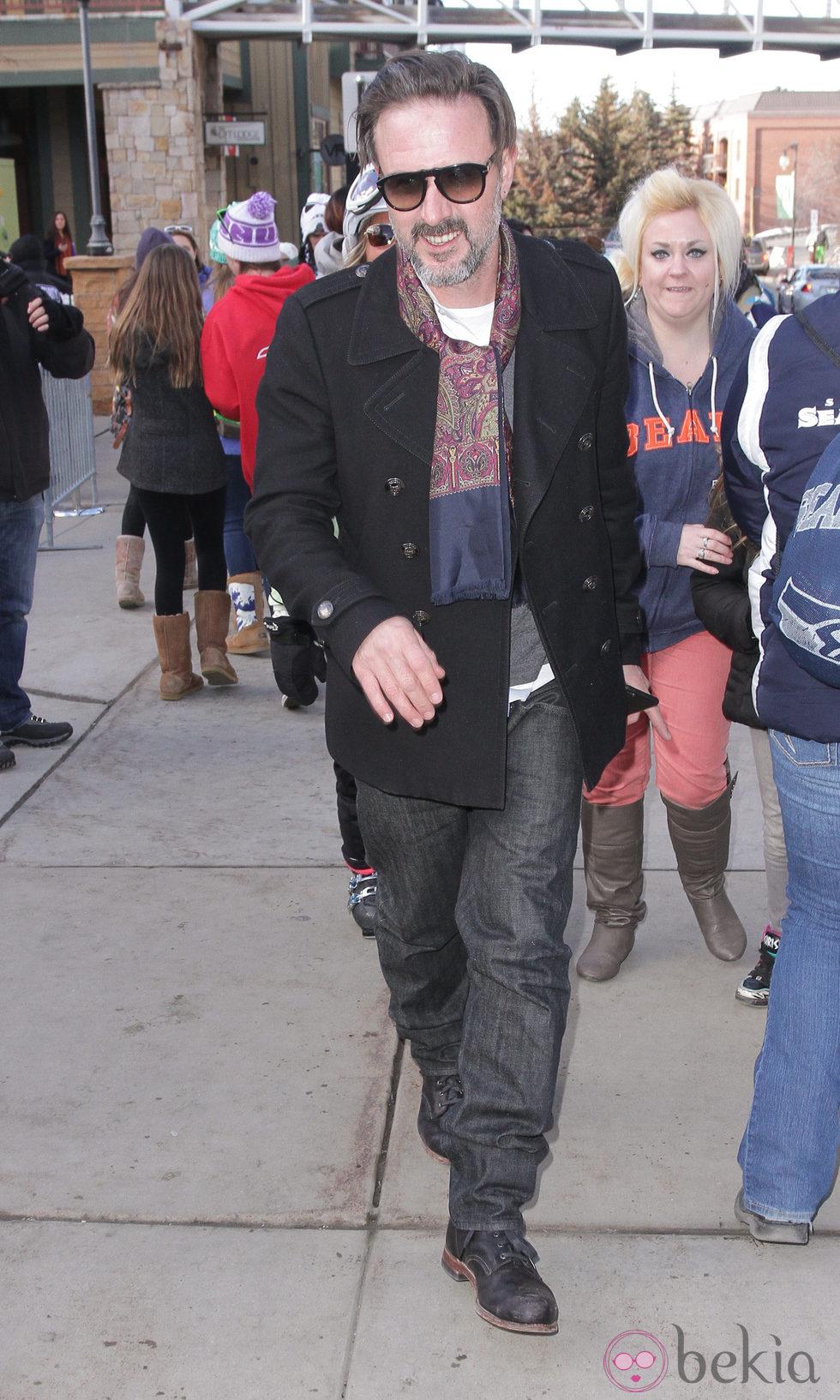 David Arquette en el Festival de Sundance 2015