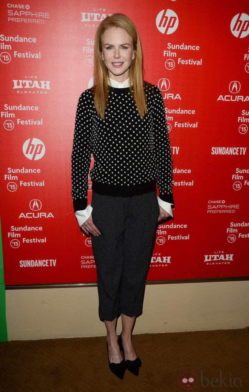 Nicole Kidman en el Festival de Sundance 2015