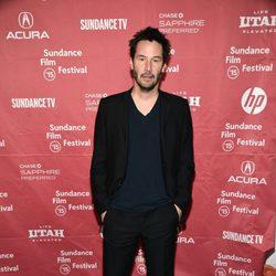 Keanu Reeves en el Festival de Sundance 2015