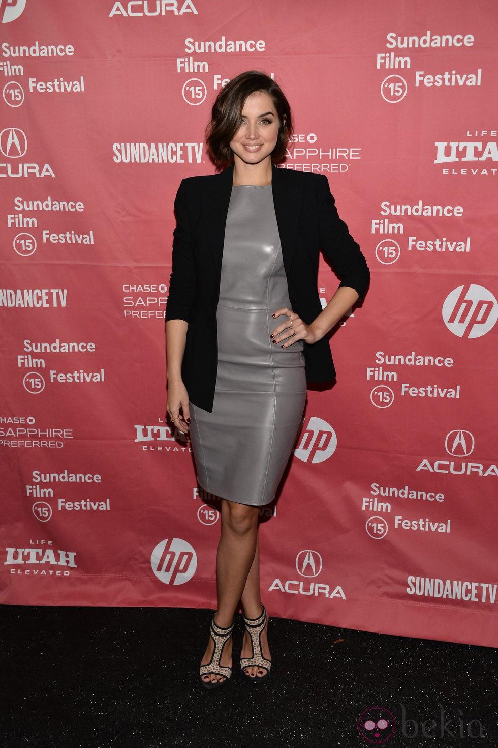 Ana de Armas en el Festival de Sundance 2015