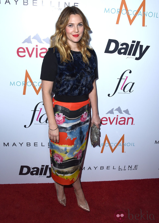 Drew Barrymore asiste a los 'Fashion Los Angeles Awards 2015'