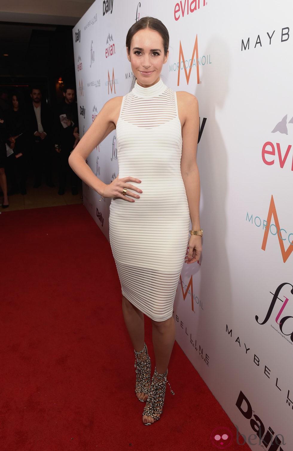 Louise Roe en los 'Fashion Los Angeles Awards 2015'
