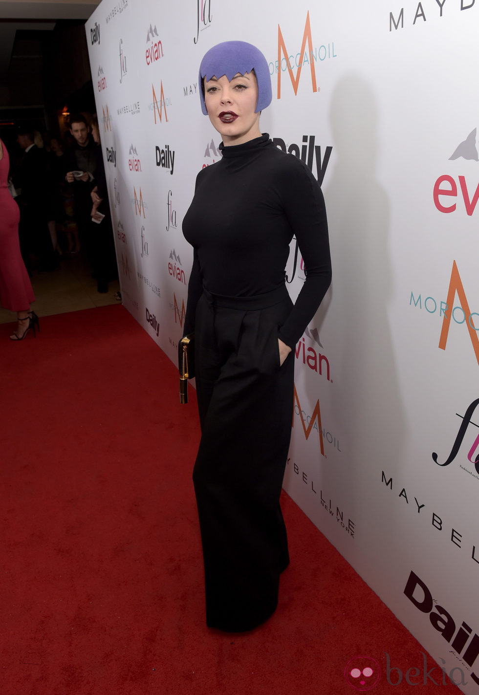Rose McGowan acude a los 'Fashion Los Angeles Awards 2015'
