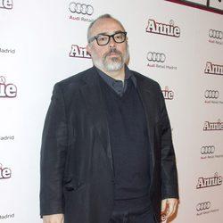 Álex de la Iglesia en la premiere de 'Annie' en Madrid
