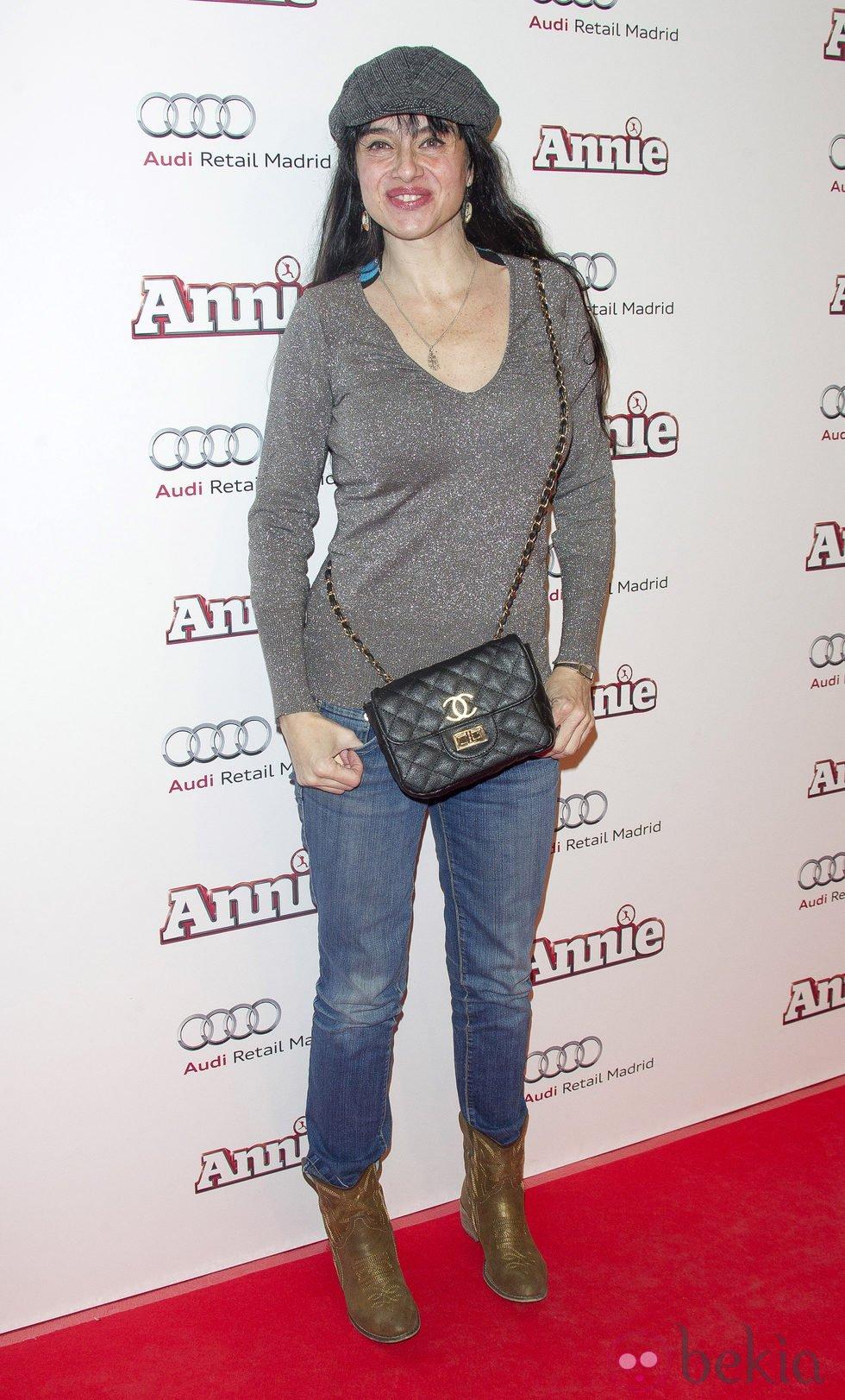 Beatriz Rico en la premiere de 'Annie' en Madrid