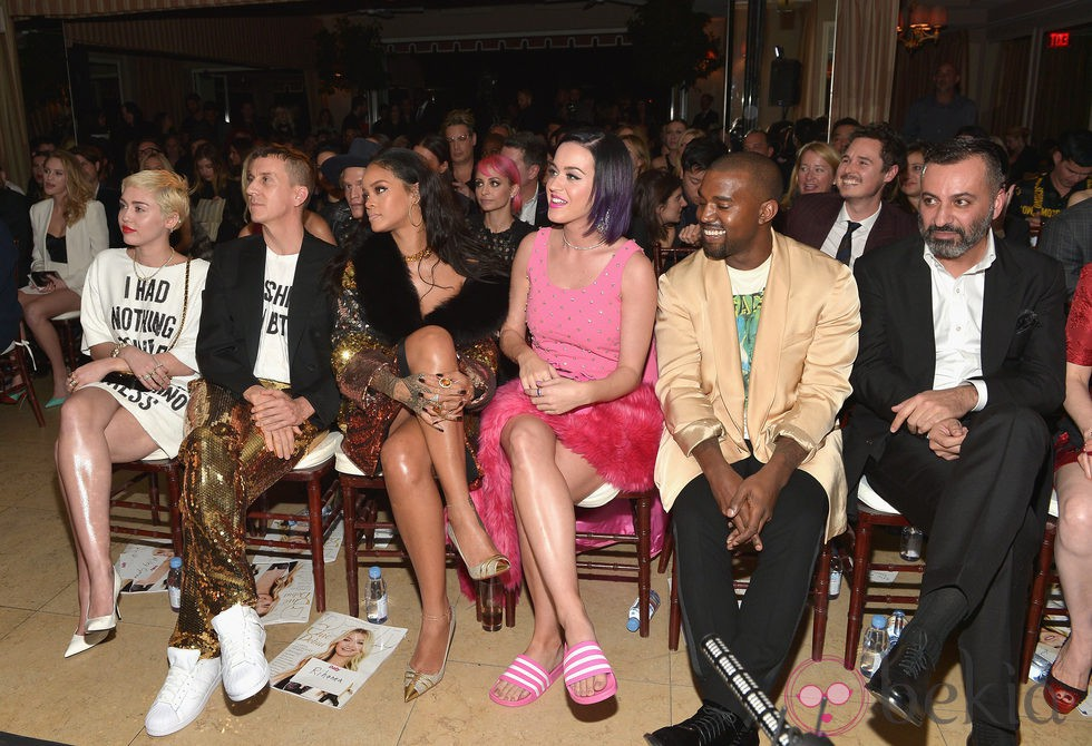 Miley Cyrus, Rihanna, Katy Perry y Kanye West en los 'Fashion Los Angeles Awards 2015'
