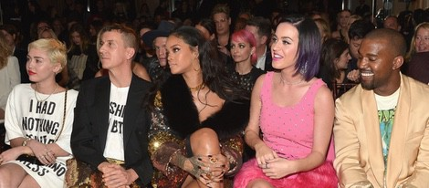 Miley Cyrus, Rihanna, Katy Perry y Kanye West en los 'Fashion Los Angeles Awards 2015'