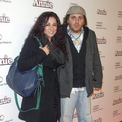 Ángeles Muñoz en la premiere de 'Annie' en Madrid