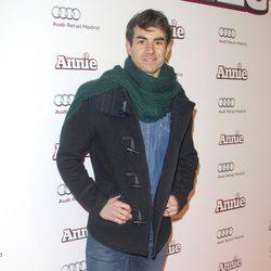 Daniel Muriel en la premiere de 'Annie' en Madrid