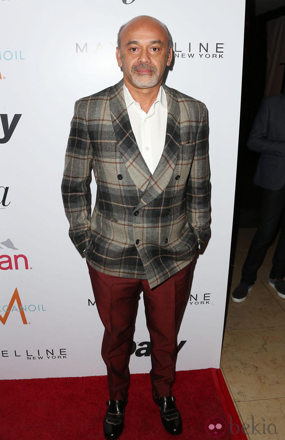 Christian Louboutin en los 'Fashion Los Angeles Awards 2015'