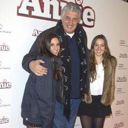 Fernando Romay en la premiere de 'Annie' en Madrid