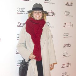 Emma Suárez en la premiere de 'Annie' en Madrid