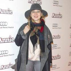 Pilar Castro en la premiere de 'Annie' en Madrid