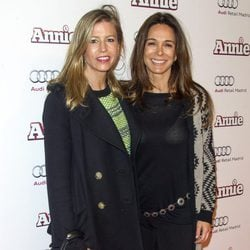 Patricia Cerezo y Lydia Bosch en la premiere de 'Annie' en Madrid
