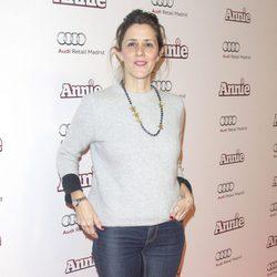 Lorena Berdún en la premiere de 'Annie' en Madrid