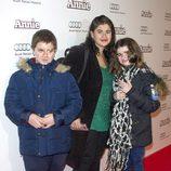 Lucía Etxebarría en la premiere de 'Annie' en Madrid