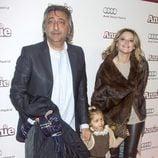 Juan Carmona en la premiere de 'Annie' en Madrid