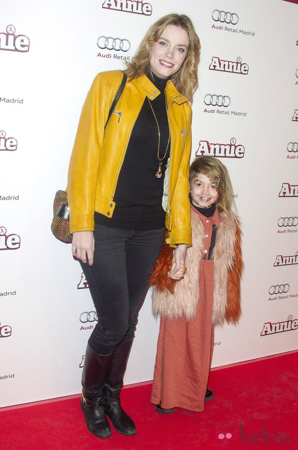 Carolina Bang en la premiere de 'Annie' en Madrid