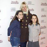 Lluvia Rojo en la premiere de 'Annie' en Madrid