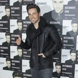 David Bustamante en el photocall de su concierto en Madrid
