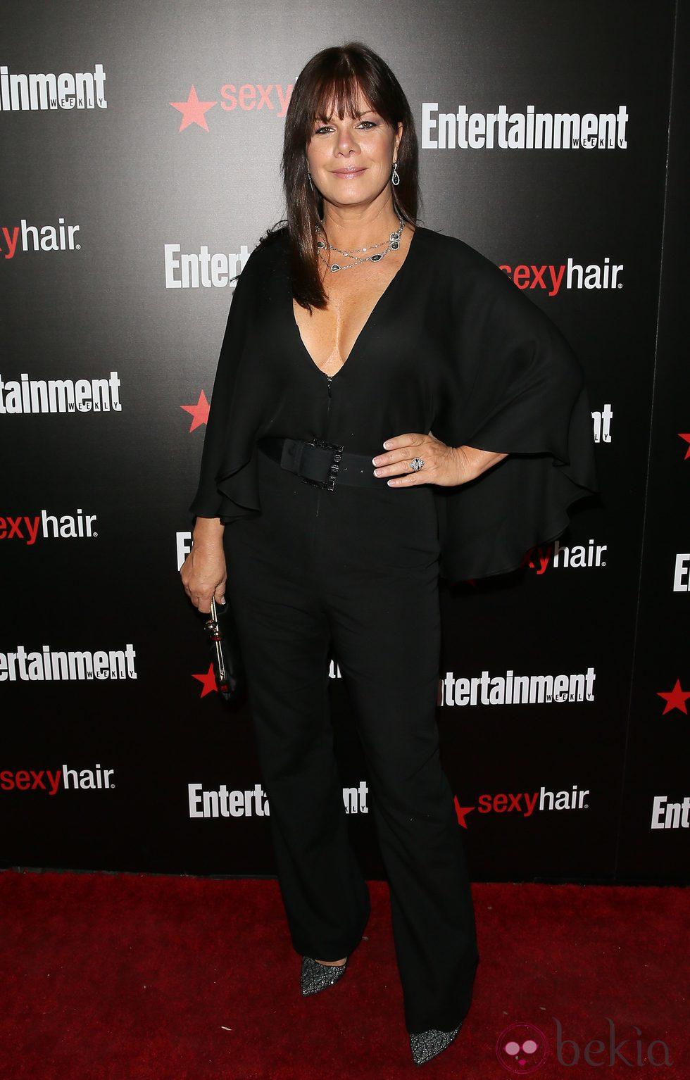 Marcia Gay Harden en una fiesta previa a los Screen Actors Guild Awards 2015